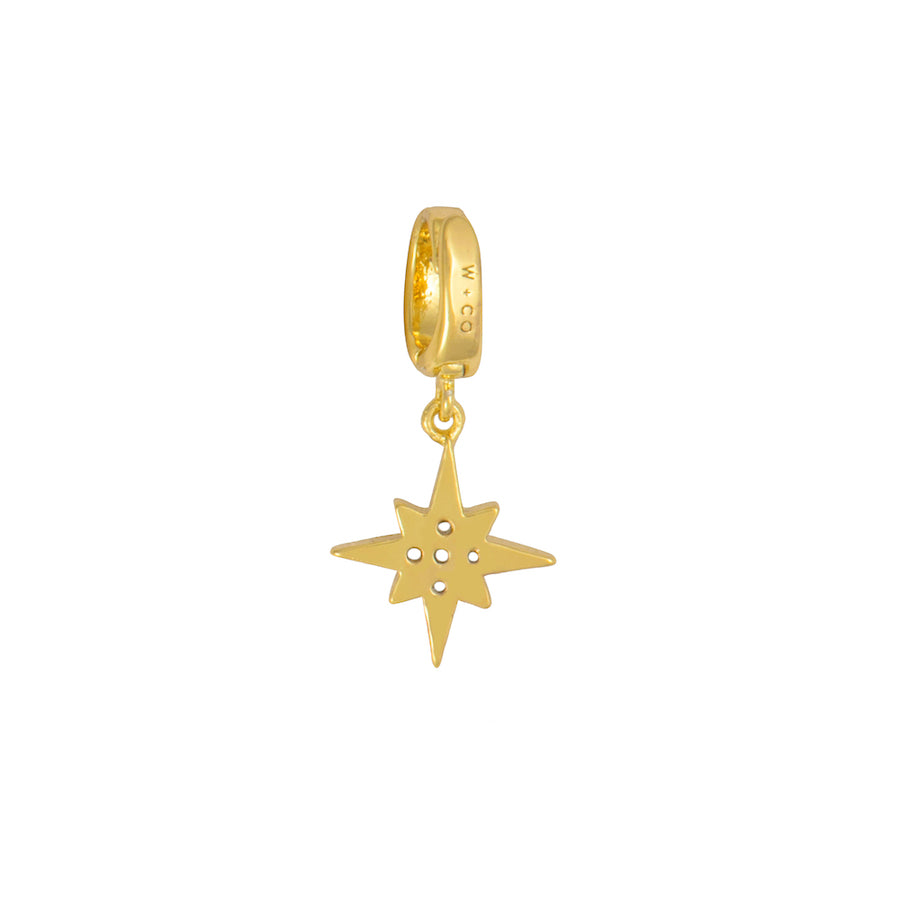 Wishing Star Gold Charm