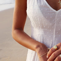 Begin Anew Gold Bracelet - Wanderlust + Co