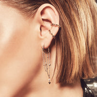 Zyia Cosmic Silver Earrings