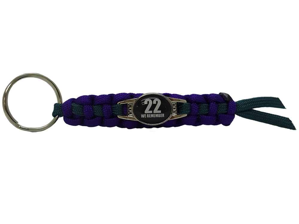 We Remember Double Sided Keychain