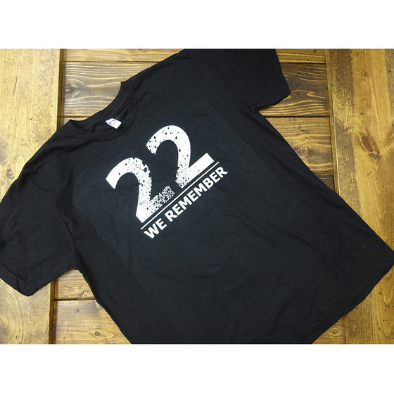 We Remember 22 Unisex Tee