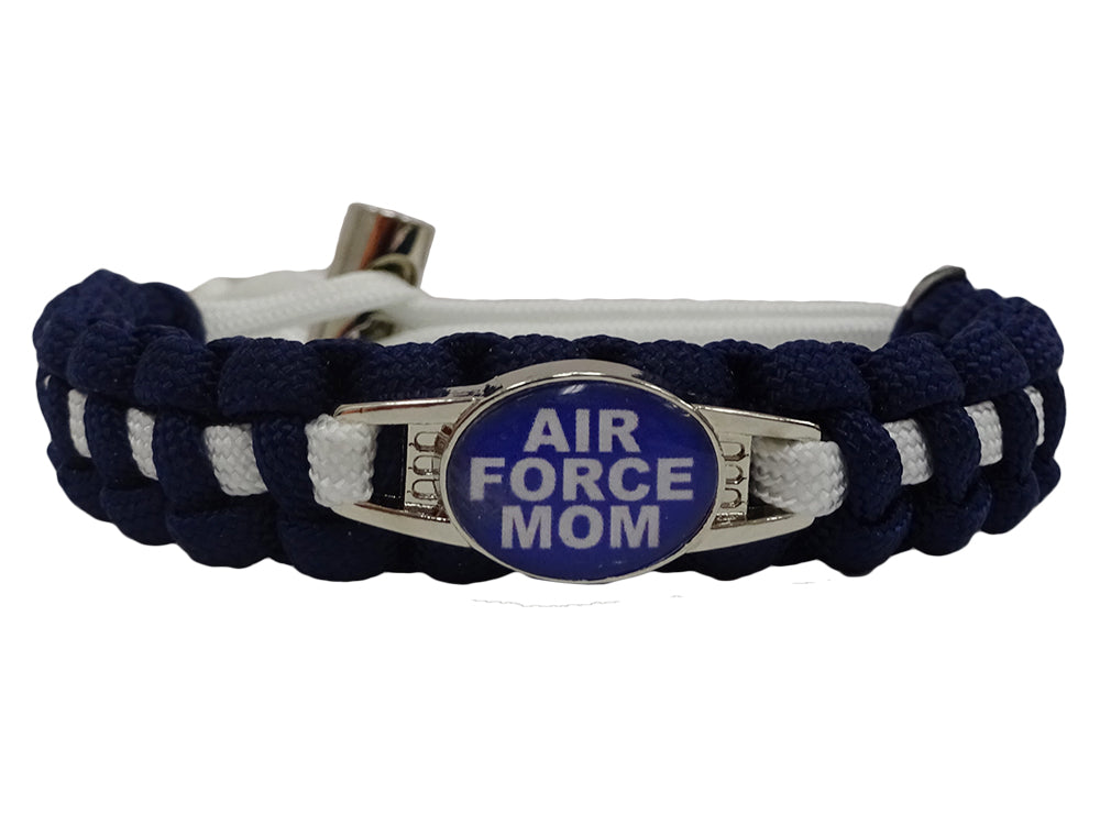 Air Force Mom Paracord Bracelet