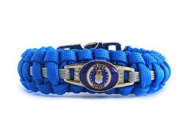Air Force Veteran Paracord Bracelet Live Feed