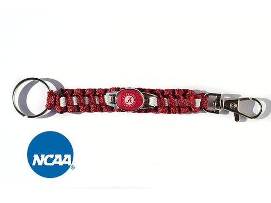 Officially Licensed Alabama Crimson Tide Paracord Key Chain