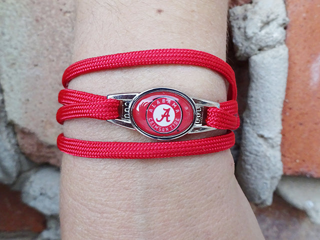 Alabama Crimson Tide Officially Licensed Designer Wrap Bracelet