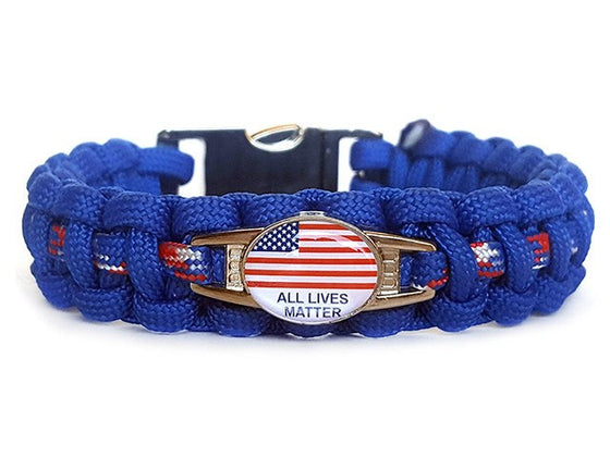 All Lives Matter Paracord Bracelet