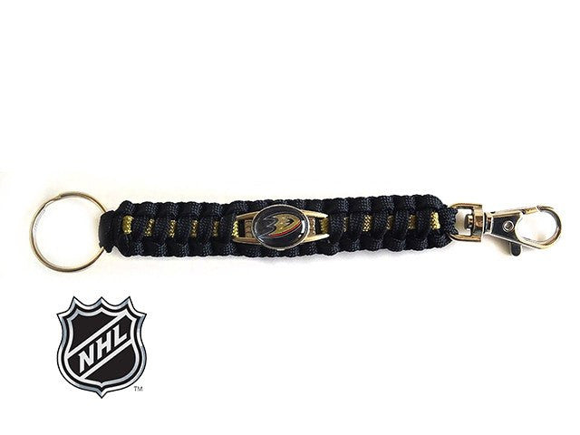 Offically Licensed NHL Anaheim Ducks Paracord Key Fob