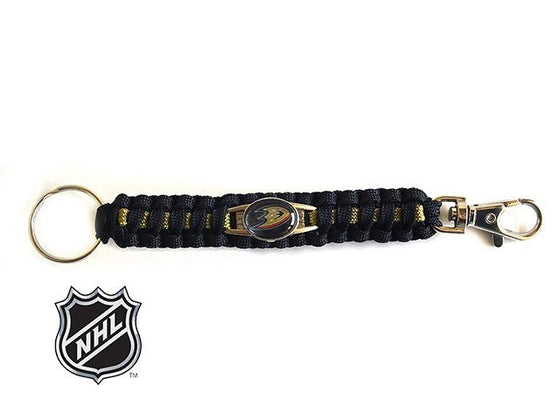 Officially Licensed NHL Anaheim Ducks Paracord Keychain