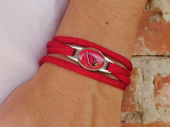 Arizona Cardinals Officially Licensed Designer Wrap Bracelet
