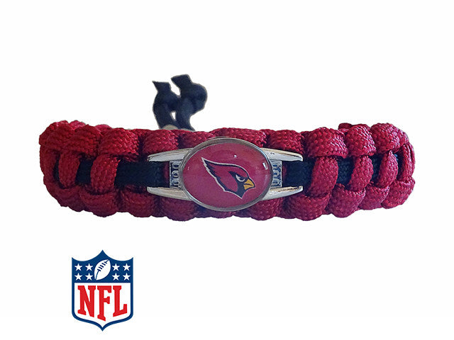 Officially Licensed NFL Arizona Cardinals Paracord Bracelet