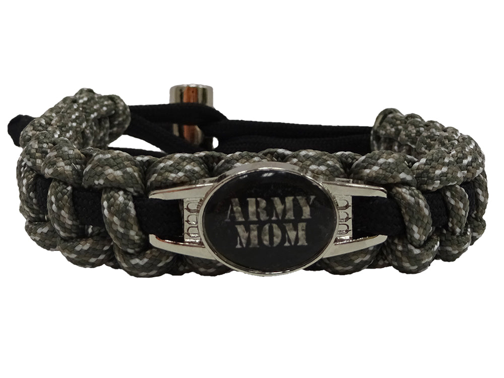 Army Mom Paracord Bracelet