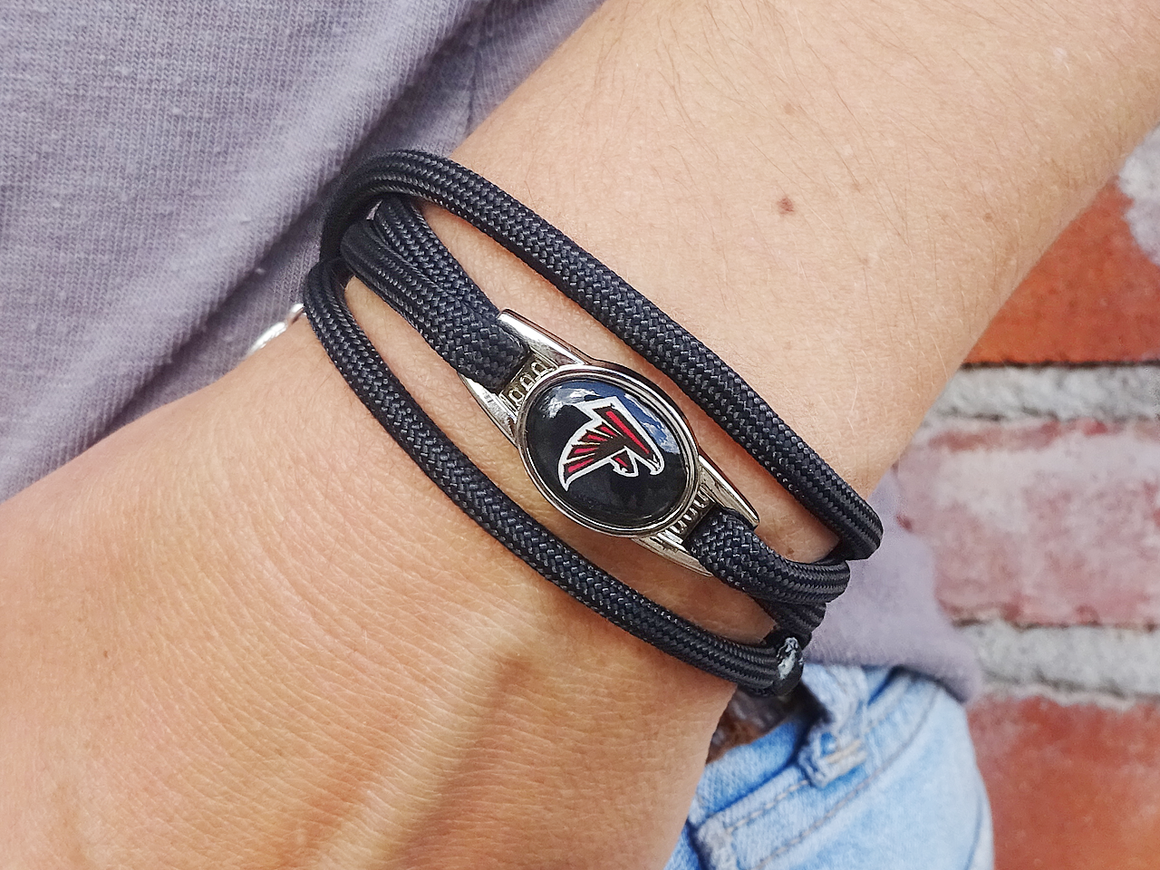 Atlanta Falcons Officially Licensed Designer Wrap Bracelet