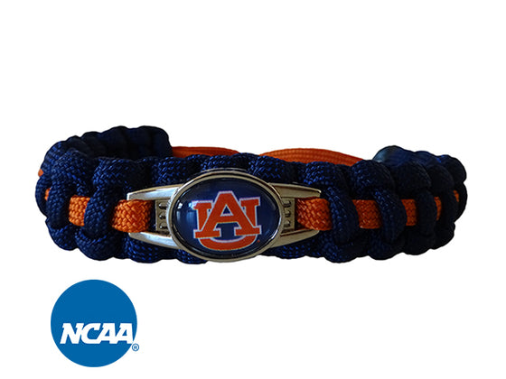Officially Licensed Auburn Tigers Paracord Bracelet