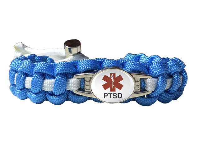 Medical ID PTSD Paracord Bracelet