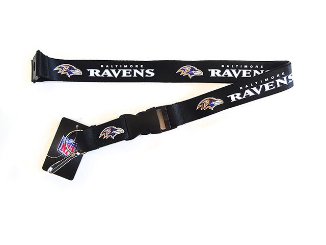 Officially Licensed NFL Baltimore Ravens Lanyard