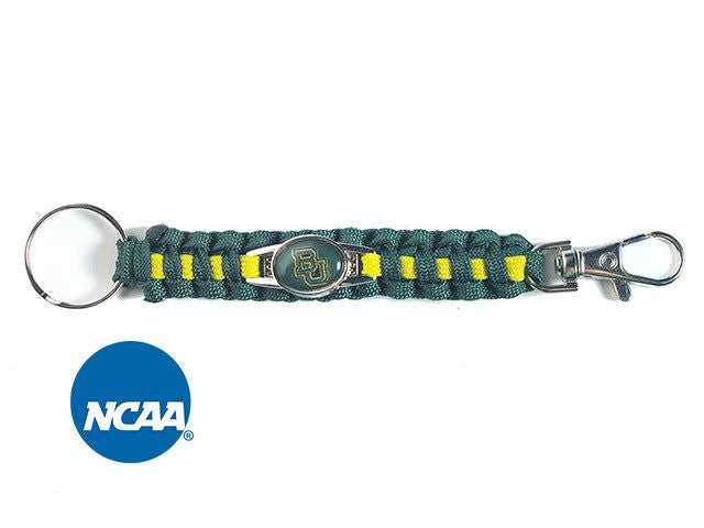 Officially Licensed Baylor Bears Paracord Keychain