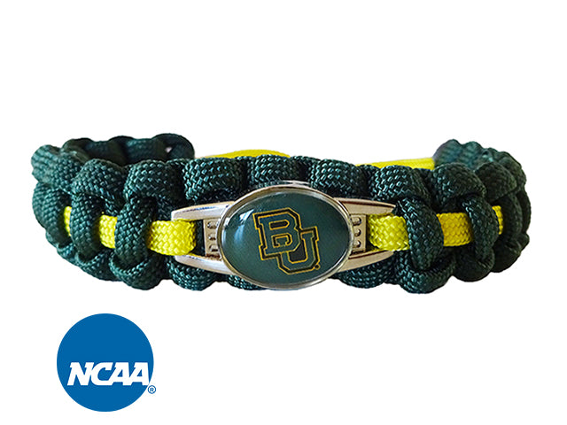 Officially Licensed Baylor Bears Paracord Bracelet