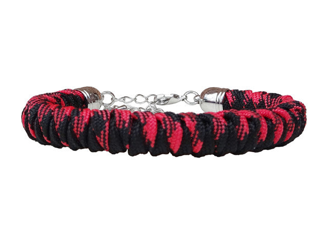 Lady Luck Remembers Everyone Deployed Paracord Bracelet