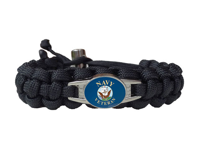 US Navy Veteran Paracord Bracelet