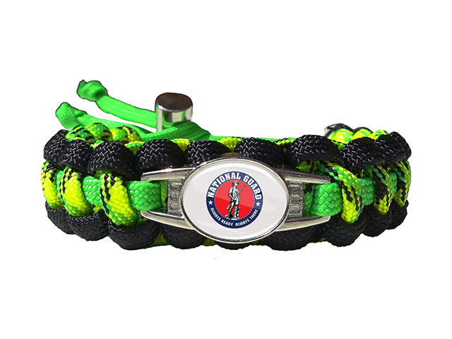 National Guard Paracord Survival Bracelet