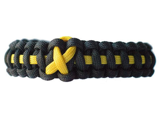Bladder Cancer Awareness Paracord Bracelet