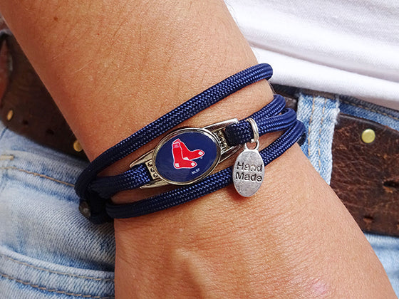Boston Red Sox Officially Licensed Designer Wrap Bracelet