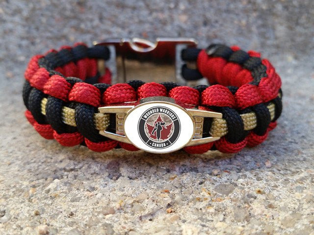 Wounded Warriors Canada Bracelet & Keychain