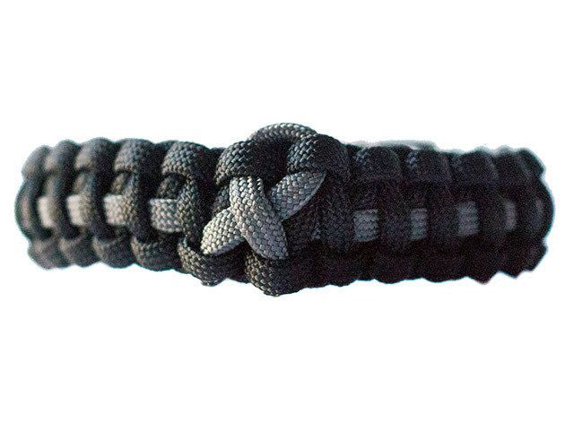Brain Cancer Awareness Paracord Bracelet