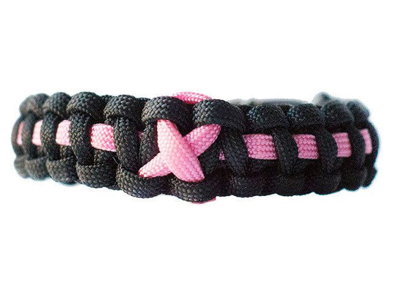 Breast Cancer Awareness Paracord Bracelet