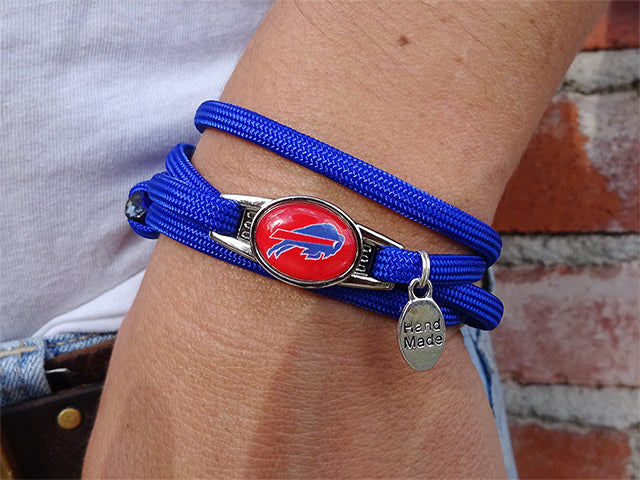Buffalo Bills Officially Licensed Designer Wrap Bracelet