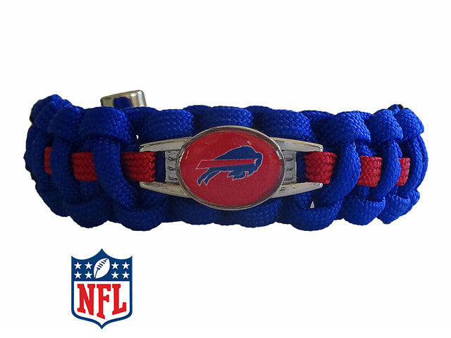 Officially Licensed NFL Buffalo Bills Paracord Bracelet