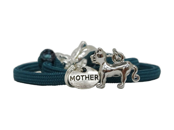"""Cat Mom"" Designer Bracelet"