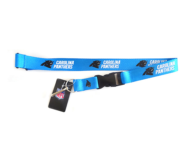 Officially Licensed NFL Carolina Panthers Lanyard