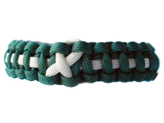 Cervical Cancer Awareness Paracord Bracelet