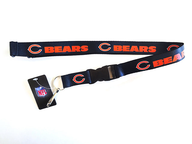 Officially Licensed NFL Chicago Bears Lanyard