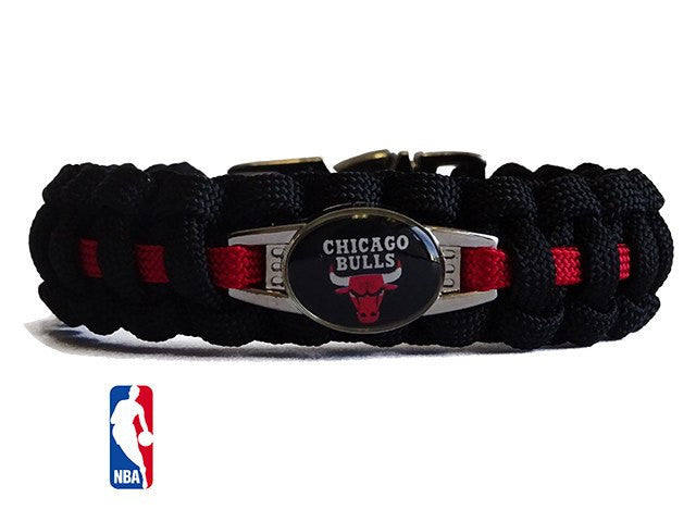 Officially Licensed NBA Chicago Bulls Paracord Bracelet