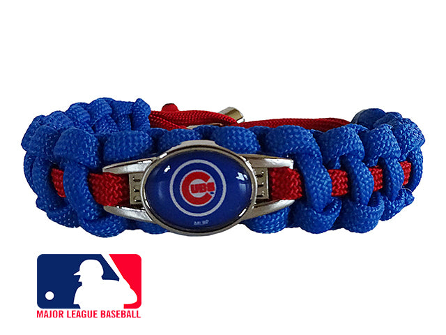 Officially Licensed MLB Chicago Cubs Paracord Bracelet