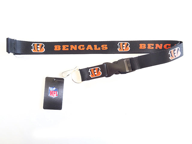 Officially Licensed Cincinnati Bengals NFL Paracord Key Fob