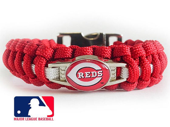 Officially Licensed MLB Cincinnati Reds Paracord Bracelet