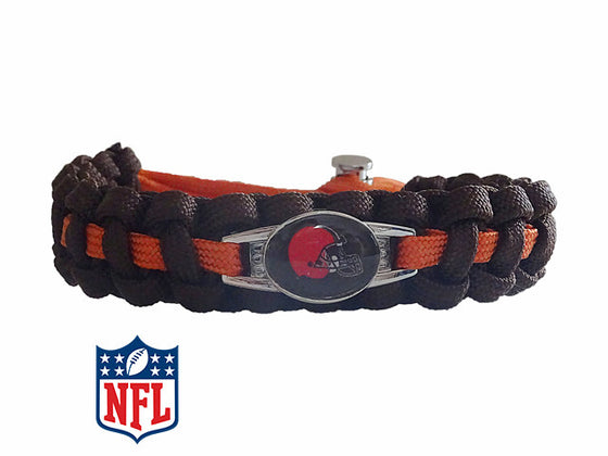 Officially Licensed NFL Cleveland Browns Paracord Bracelet