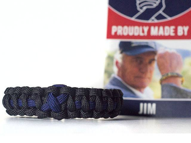 Colon Cancer Awareness Paracord Bracelet