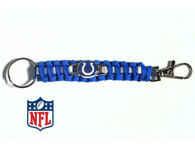 Officially Licensed Indianapolis Colts NFL Paracord Keychain
