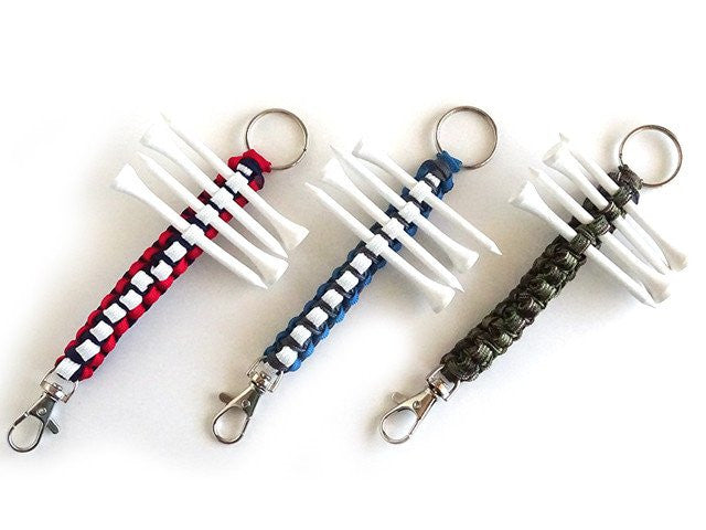 Paracord Golf Tee Choose Your Own Color!
