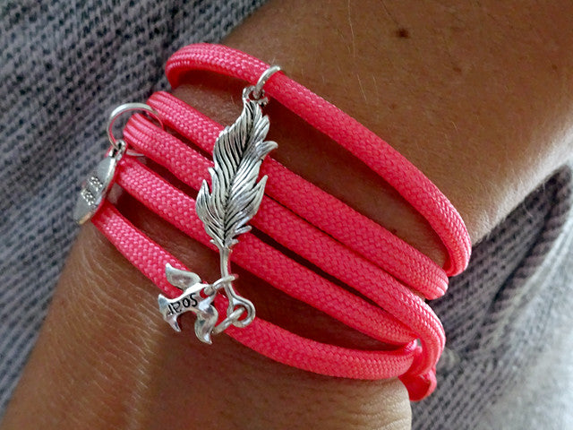 """Soar Like a Bird"" Designer Bracelet"
