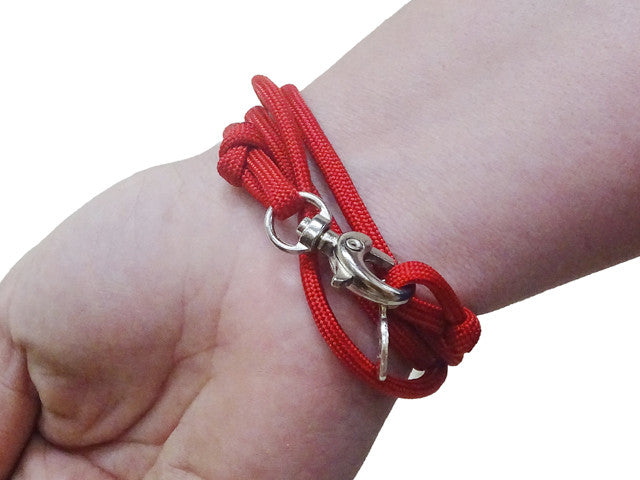 Kansas City Chiefs Officially Licensed Designer Wrap Bracelet