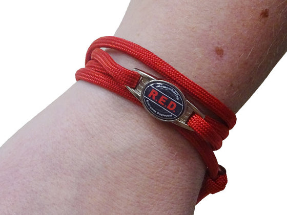 Remember Everyone Deployed Designer Wrap Bracelet