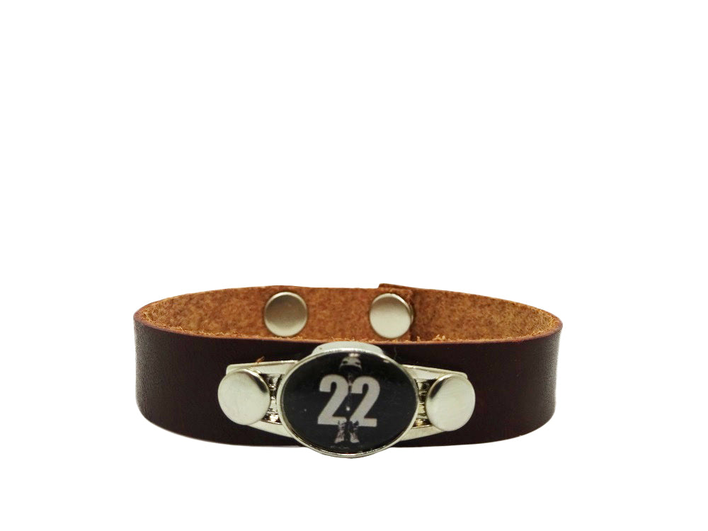 Save 22 Leather Bracelet