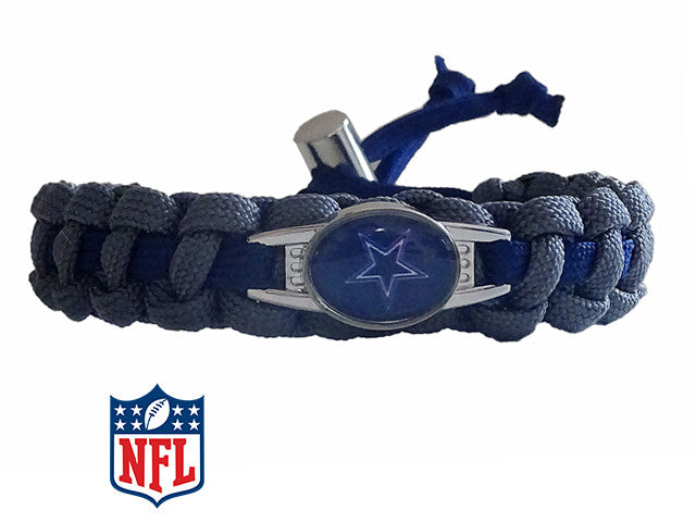 Officially Licensed NFL Dallas Cowboys Paracord Bracelet