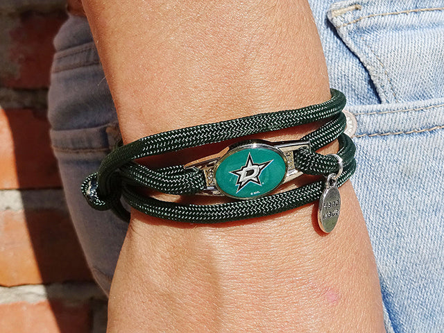 Dallas Stars Officially Licensed Designer Wrap Bracelet
