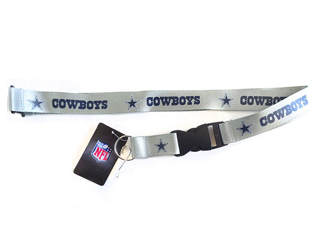 Officially Licensed NFL Dallas Cowboys Lanyard with Paracord Badge Reel Attachment